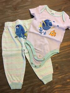 Disney Finding Dory 6-9 months outfit