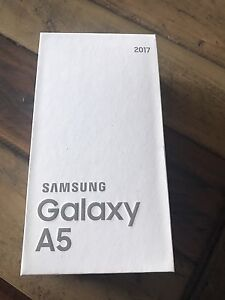 Samsung A5 2017 unlocked and unopened!