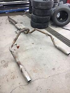 Toyota tundra Muffler et Entre d'air