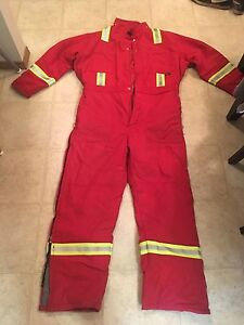 Winter Lined Fire Resistant Coveralls for Sale!