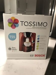 Red Tassimo for sale, in box, brand new
