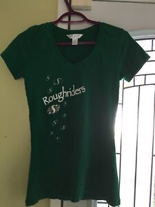 Woman's large Roughriders T-shirt