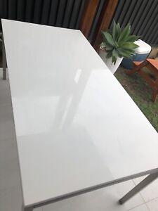 FREEDOM Essentials dining table 180cm x 90cm white
