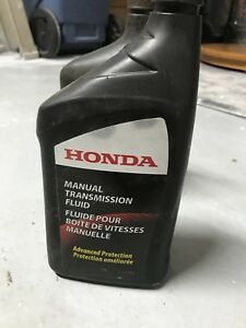 Honda Manual Transmission Fluid Mtf