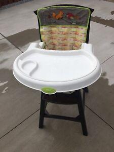 high chair. $25