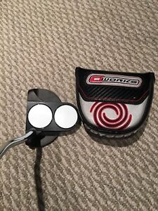 New ODYSSEY O-works 2 ball putter