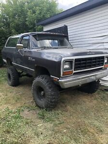 1986 Ramcharger *sold*
