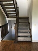 CARPET STAIR INSTALL! VERY AFFORDABLE PRICES!
