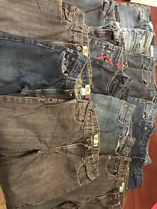 15 pairs boys jeans