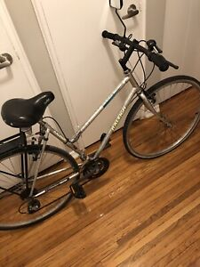 Here is a nice lady's bike without the price tag!