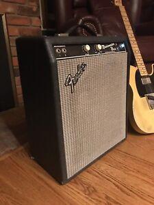Fender Custom Deluxe Handwired 6V6 tube amp. Beautiful.