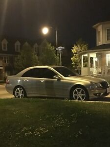 Mercedes Benz - 2007 C230 with AMG wheels and exhaust package