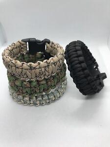 Bracelets de survie en Paracorde