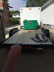 2015 Cjay FX9 construction combo trailer