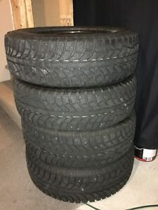 Selling 4 winter tires in very good condition