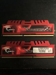 G.Skill Ripjaws X Series 4GB x 2 DDR3 1600 RAM