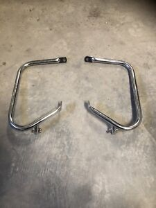 Rear bag guards / crash bars