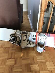 Ensemble snowboard