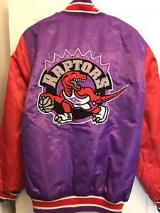 Vintage G III- Carl Banks Toronto Raptors Coat- Sz L