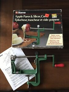 Apple parer and slicer, corer