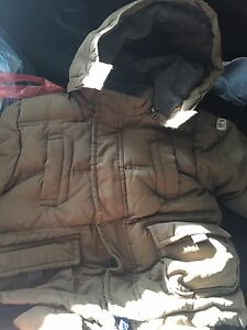 GAP warmest snowsuit (olive green) size 2