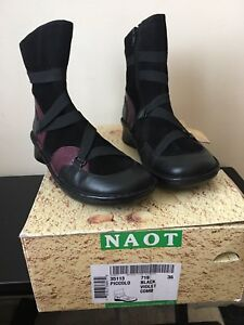 "New Naot ""Piccolo"" boots sz36"