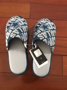 Dallas Cowboys youth slippers