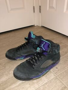 "Jordan 5 ""Black Grape"" (Size 11)"