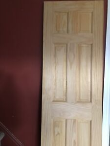 Solid pine door for sale