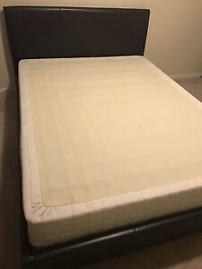 Queen size Bed and boxspring $200