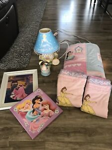 Princess bedding and accessories!