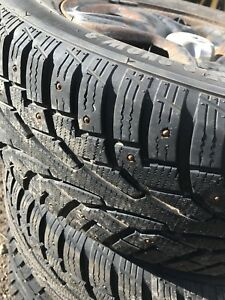 Winter studded tires 225/65/17
