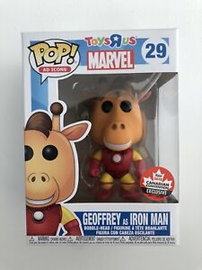 Geoffrey as Iron Man Funko Pop