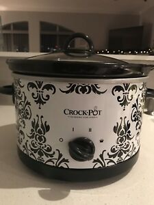 Used:Crock-Pot 4.5Qt. Round Manual Slow Cooker