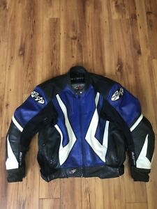 Joe rocket leather motorcycle jacket