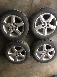 4 pneu, tire 215/60r 17pouce 1HIVERS!! 9/32
