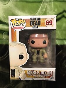 Funko Pop Vinyl The Walking Dead Merle Dixon Vaulted Parramatta Parramatta Area Preview