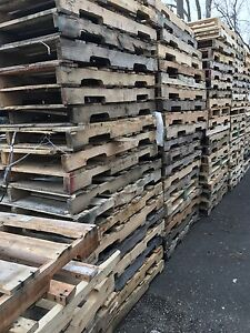 Pallets available with free delivery