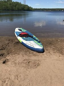 Paddle board rental comes in bag for going south trip  $49 day