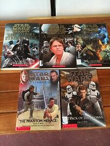Star Wars books Woodpark Parramatta Area Preview