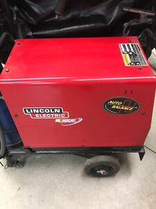 Lincoln TIG WELDER 175 pro Ac dc with cart and new tank