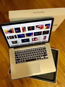MacBook Pro retina 15'' MI2015 i7 2.5ghz 16gb 1to (1000gb)ssd