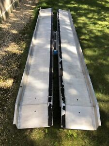 Car carrier aluminum ramps 3000lb each