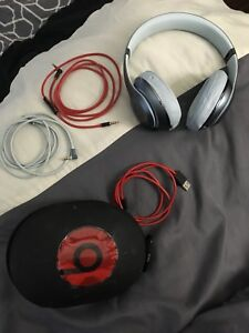 Beats by Dre headphones and case