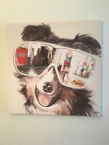 Dog Canvas Art