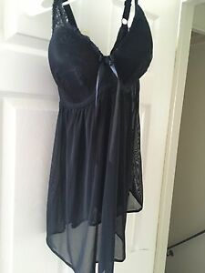 Beautiful negligee and robe