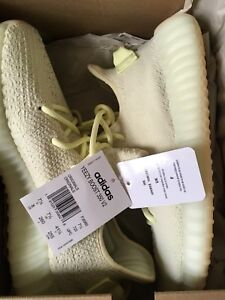 Yeezy 350 butter size 8
