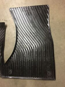 Audi A4 All-season/rubber mats