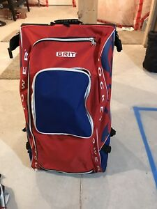 Large grit hockey bag