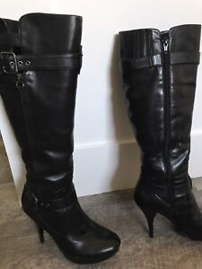 'Guess' Leather Boots